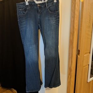 Women's Maurices flare jeans size 16 long